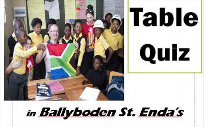 Fundraiser for Niall Mellon – Inaugural Teaching Blitz – South Africa